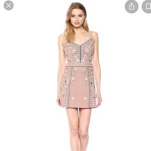 FRENCH CONNECTION Bijou stitch mini dress
